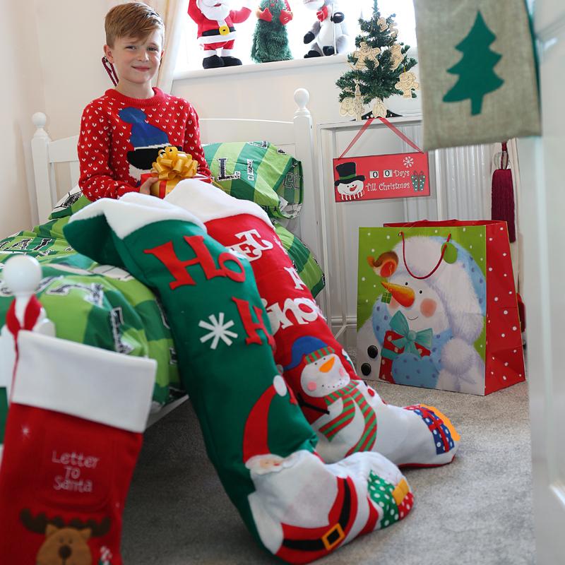 Giant christmas stocking | Baker & Son Schoolwear